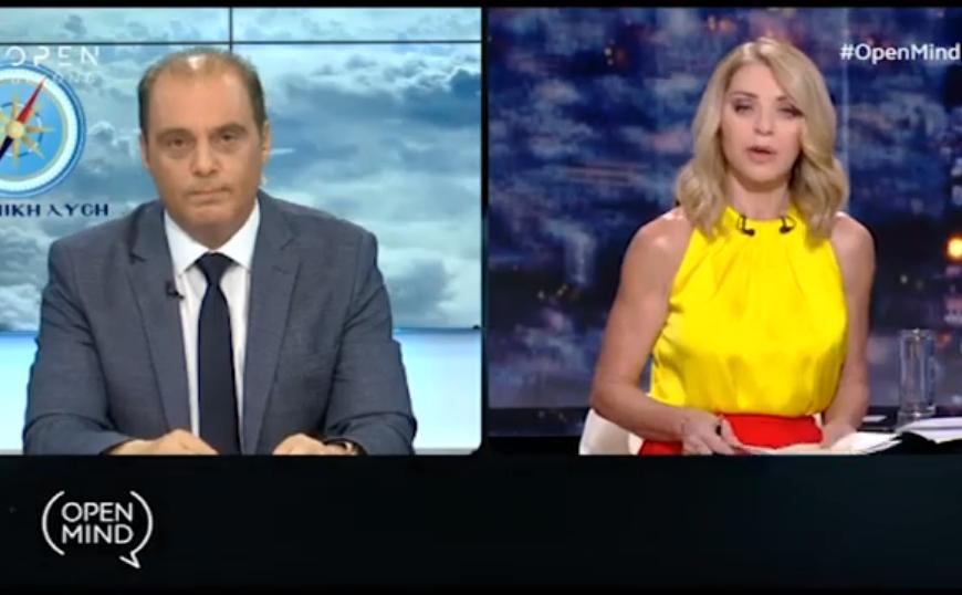 Άγρια κόντρα Βελόπουλου - Στάη στον «αέρα»: Αποχώρησε από την εκπομπή (video)