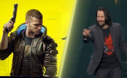 Έδωσαν συλλεκτική έκδοση του Cyberpunk 2077 σε αυτόν που φώναξε «είσαι εκθαμβωτικός» στον Keanu Reeves