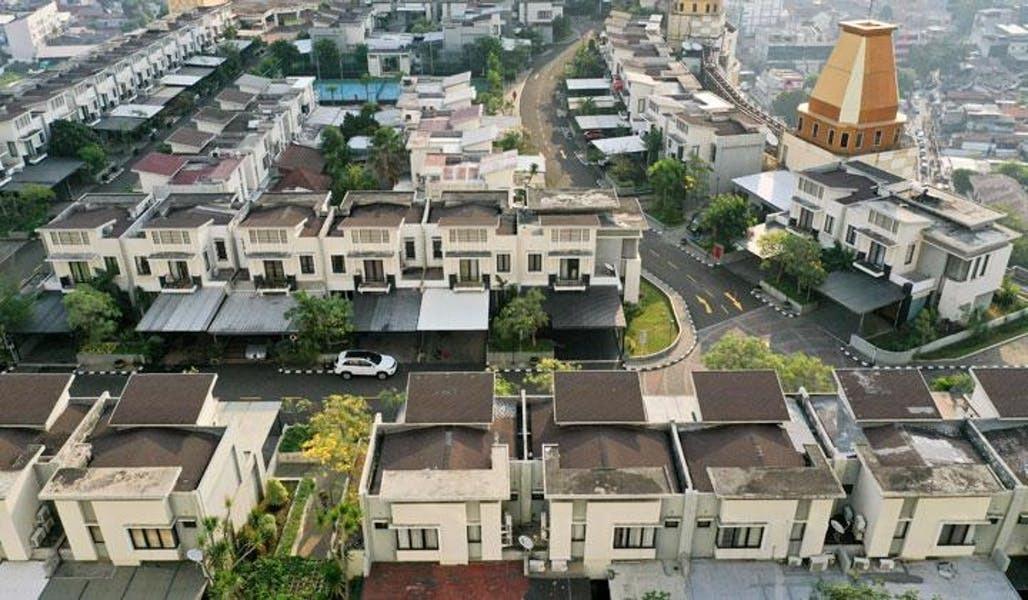 Ένα ολόκληρο χωριό είναι χτισμένο στην ταράτσα ενός τεράστιου κτιρίου!