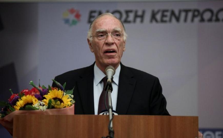 Ένωση Κεντρώων: Αυτός είναι ο αντικαταστάτης του Βασίλη Λεβέντη στην προεδρία