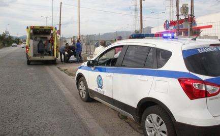 Αίγιο: Λιποθύμησε η συνοδηγός του έφεδρου αξιωματικού μετά το τροχαίο