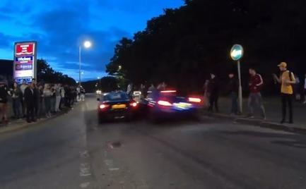 Αίμα στην άσφαλτο από κόντρες αλά Fast and Furious στην Αγγλία (video)