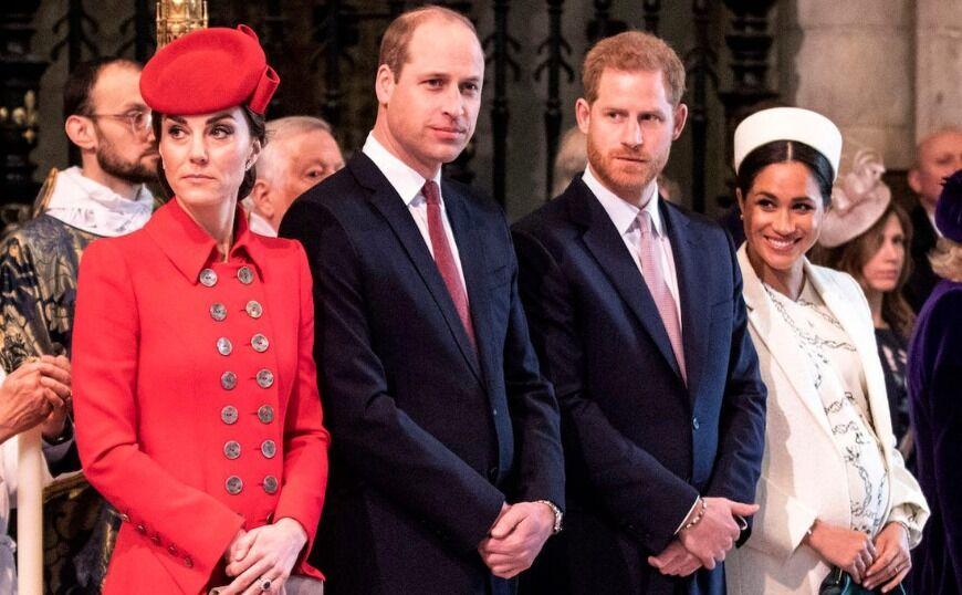 Βασιλικό ρήγμα: Ο Ουίλιαμ και ο πρίγκιπας Χάρι μιλάνε μετά βίας