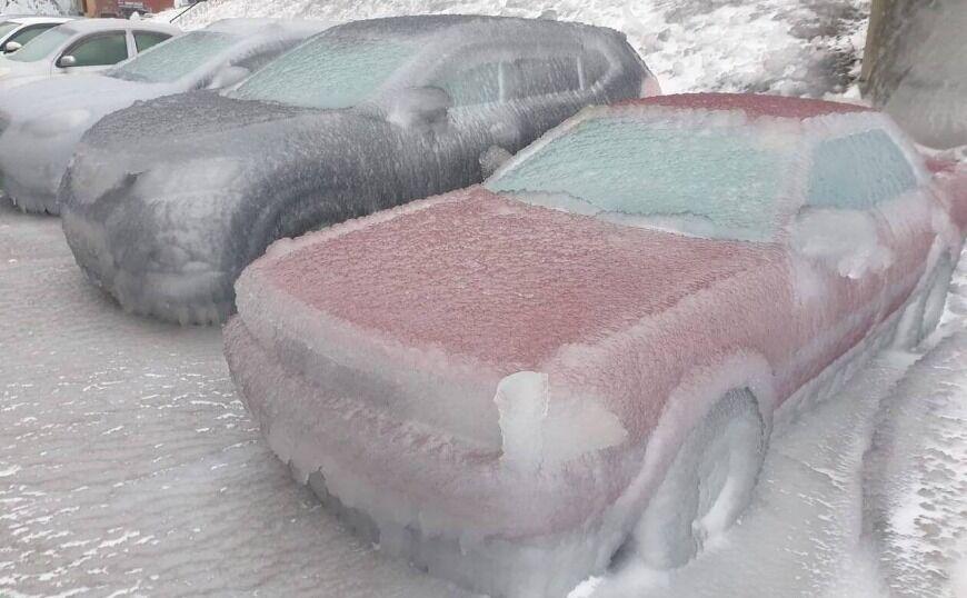 Βλαδιβοστόκ: Έριξε «παγωμένη βροχή»