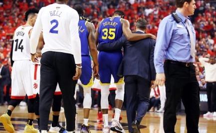 Βούρκωσε ενημερώνοντας για τον τραυματισμό του Kevin Durant