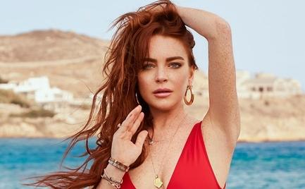 Βόλτες και ψώνια Μύκονο η Lindsay Lohan (video)