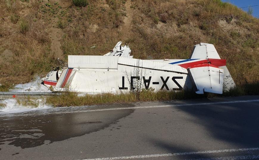 Γρεβενά: Σώθηκαν από θαύμα οι επιβαίνοντες μονοκινητήριου  αεροσκάφους (video)
