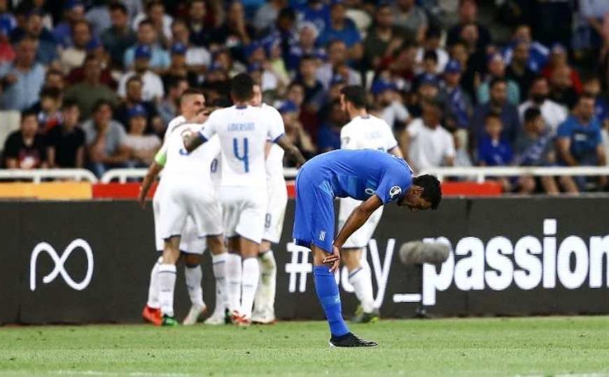 Ελλάδα - Ιταλία 0-3: Απροετοίμαστη και μπερδεμένη η Εθνική!