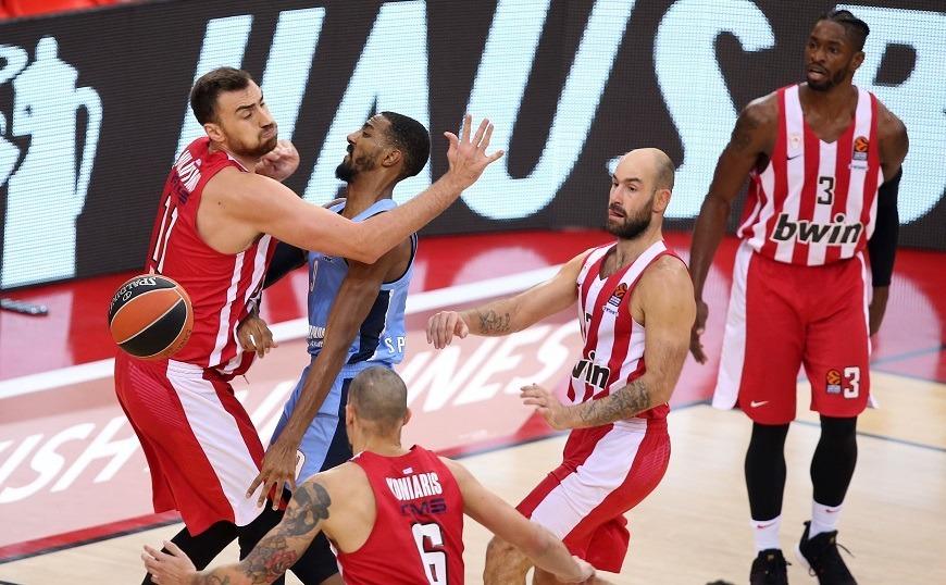 Ευρωλίγκα: Ολυμπιακός - Ζενίτ 68-77 στην παράταση (video)