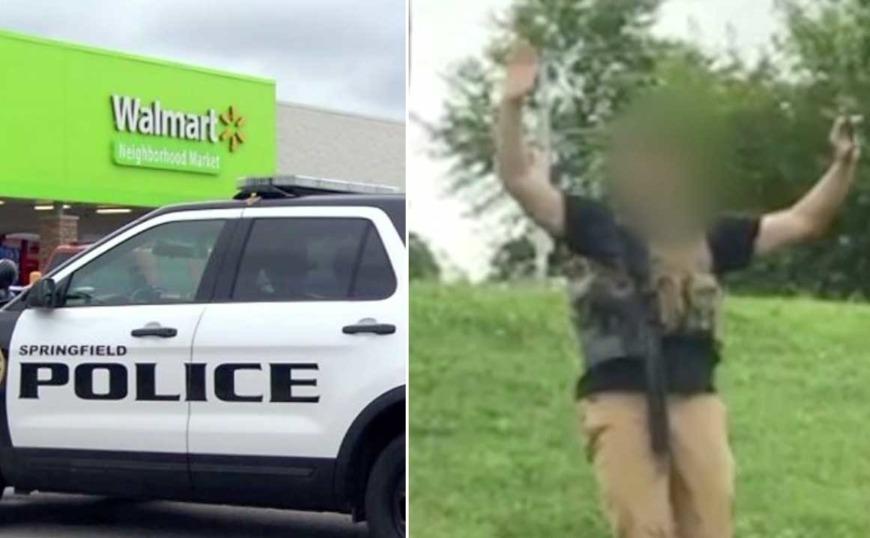 ΗΠΑ: Μπήκε με αλεξίσφαιρο γιλέκο και ένα γεμάτο όπλο σε Walmart στο Μιζούρι!