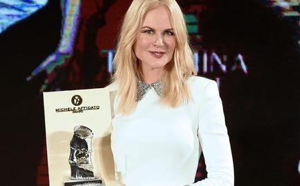 Η Νικόλ Κίντμαν τιμήθηκε με το βραβείο Taormina Arte Award