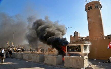 Ιράκ: Ρουκέτες στην αμερικανική πρεσβεία