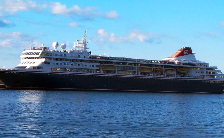 Ισθμό της Κορίνθου: Το μακρύτερο κρουαζιερόπλοιο που έχει περάσει