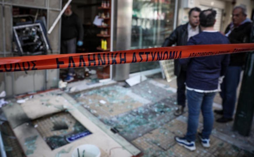Ισχυρή έκρηξη σε ΑΤΜ στη Σαρωνίδα - Κλειστός ο δρόμος