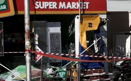 Ισχυρότατη έκρηξη σε ΑΤΜ στη λεωφόρο Δημοκρατίας στην Ηλιούπολη