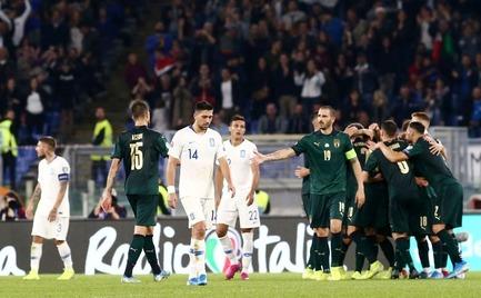 Κέρδισε τις εντυπώσεις η Ελλάδα, αλλά ηττήθηκε 2-0 από την Ιταλία