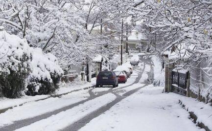 Κακοκαιρία: Ο «Ηφαιστίωνας» φέρνει χιόνια