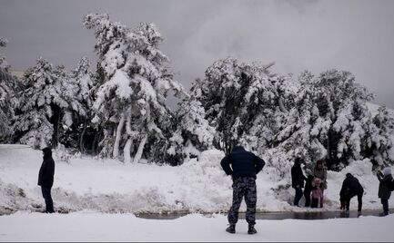 Καταιγίδες & χιόνια την Παρασκευή
