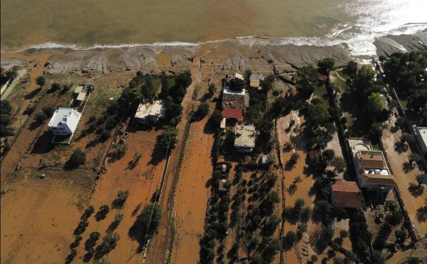 Κινέτα: Ζημιές σε περισσότερα από 300 σπίτια από την κακοκαιρία