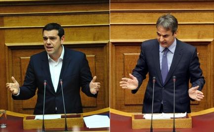 Κόντρα στη Βουλή ξέσπασε ανάμεσα σε Μητσοτάκη και Τσίπρα