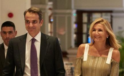 Μαρέβα Μητσοτάκη: Η ανατρεπτική αλλά ατυχής δημιουργία του brand της που φόρεσε σε επίσημο δείπνο στην Κύπρο