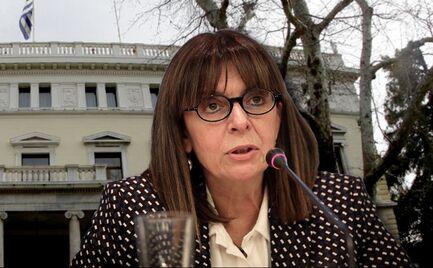Μητσοτάκης: Αικατερίνη Σακελλαροπούλου για πρόεδρος της Δημοκρατίας