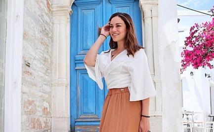 Μπάγια Αντωνοπούλου: Η προκλητική φωτογραφία της σε παραλία