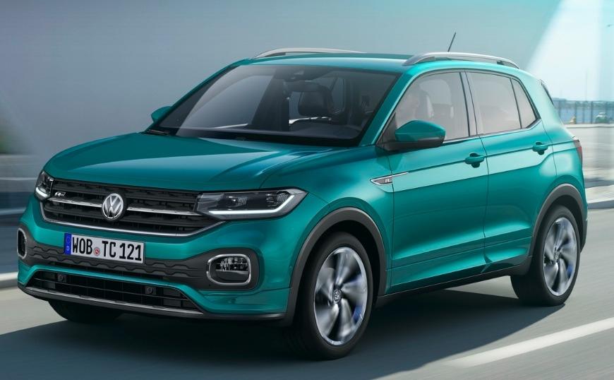 Νέο crossover VW T-Cross με 115 PS (video)