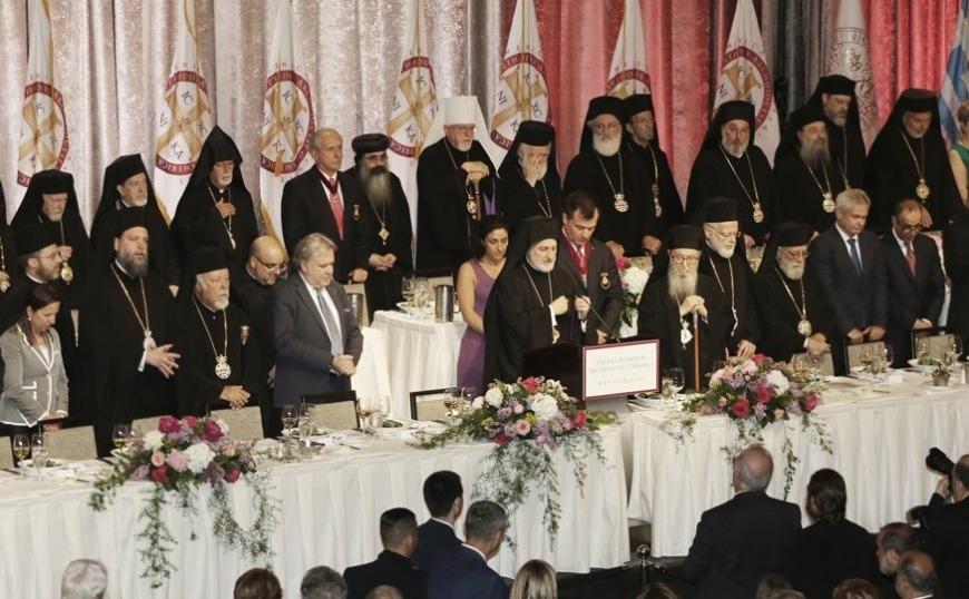 Ολοκληρώθηκαν οι τελετές ενθρόνισης του Αρχιεπισκόπου Αμερικής Ελπιδοφόρου