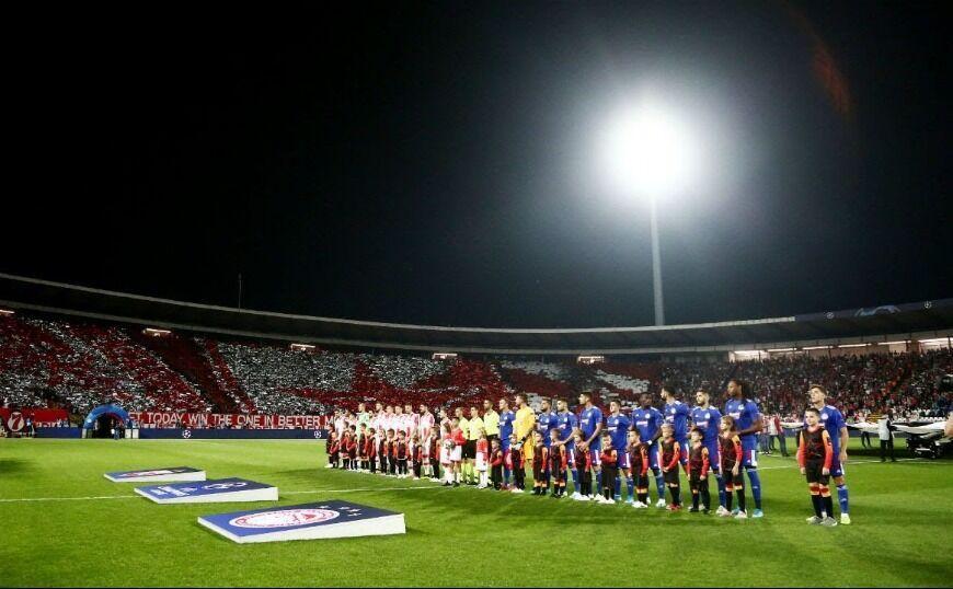 Ολυμπιακός: γονάτισε (1-0) τον Ερυθρό Αστέρα