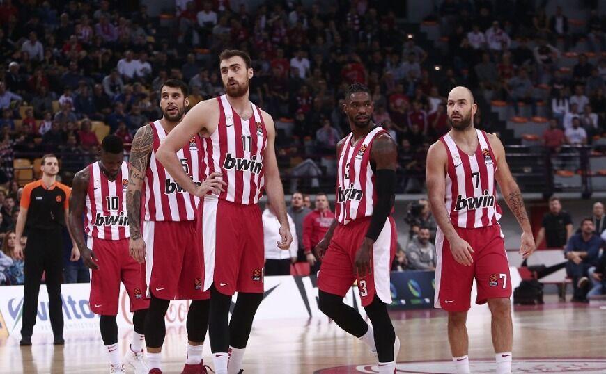 Ολυμπιακός: Προσωρινή απαγόρευση μεταγραφών από τη EuroLeague