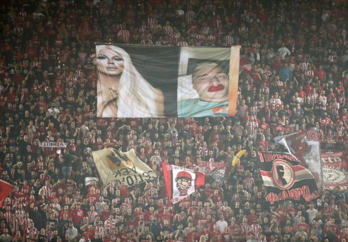 Ολυμπιακός - ΑΕΚ 2-0 και χαμός με τον Βράνιες
