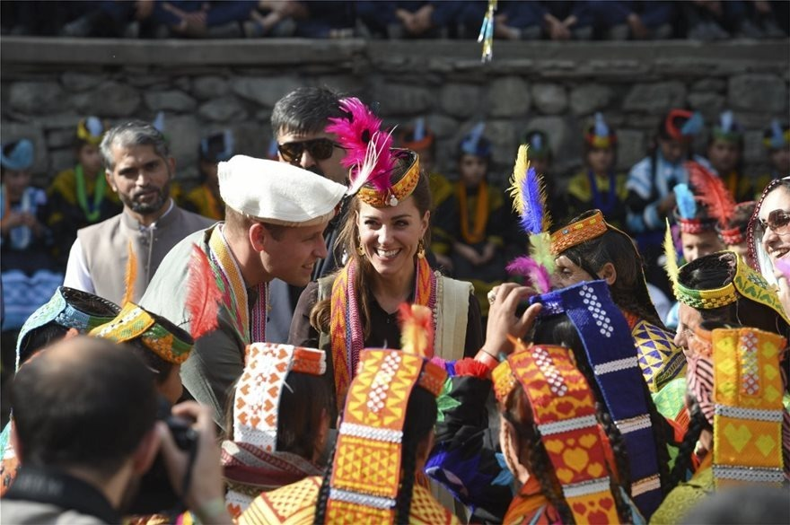 Ουίλιαμ και Κέιτ επίσκεψη στο Πακιστάν