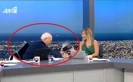 Ο Γιώργος Παπαδάκης έπεσε από την καρέκλα