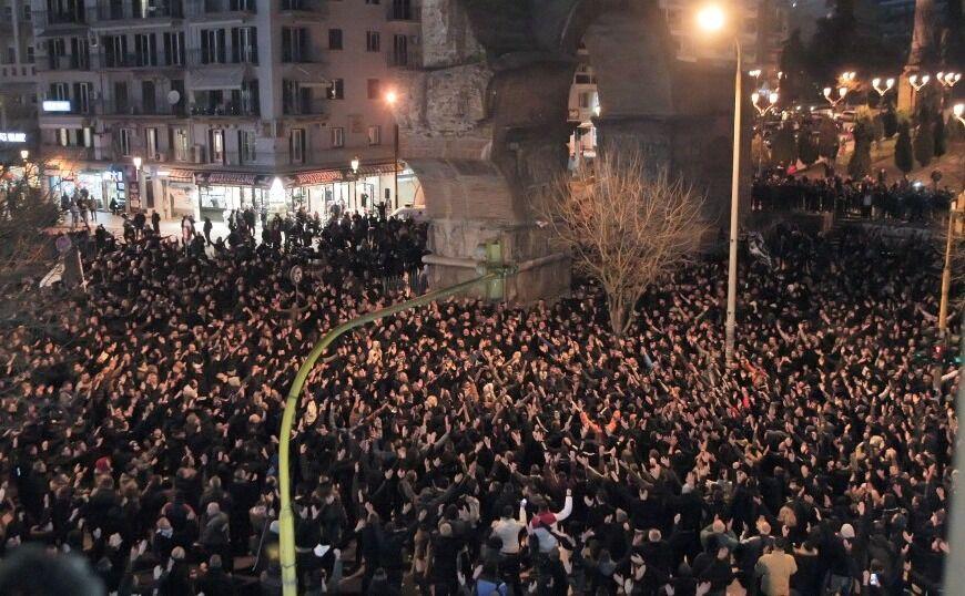 Πάνω από 8.000 έδωσαν το «παρών» στο συλλαλητήριο του ΠΑΟΚ