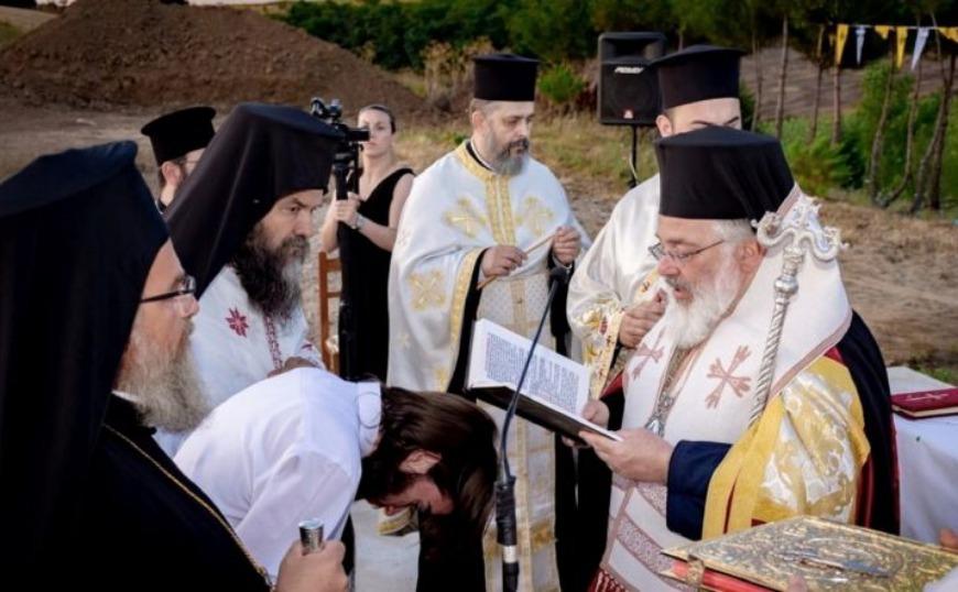 Παίσιος: Θεμελιώθηκε ναός στη Νέα Βύσσα προς τιμήν του