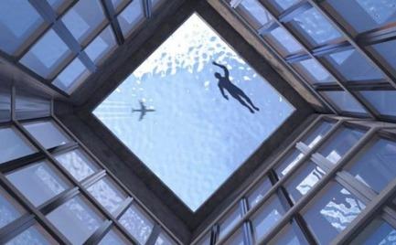Πισίνα υπερχείλισης με θέα 360 μοιρών