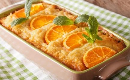 Πορτοκαλόπιτα με γιαούρτι