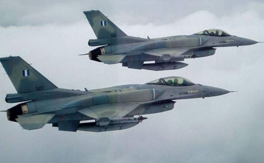 Πτήση μαχητικών Ελλάδας – ΗΠΑ νότια της Κρήτης