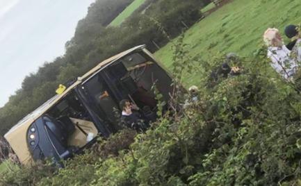 Ρουμανία: Μετωπική νταλίκας με mini-bus με δέκα νεκρούς