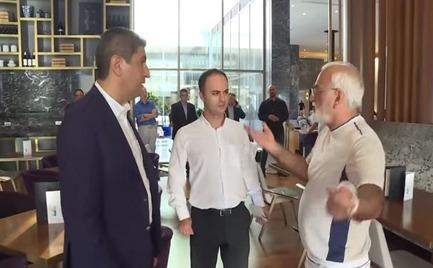 Σαββίδης-Αυγενάκης: «Τι κάνεις εδώ; Φύγε, ξεκουμπίσου!»