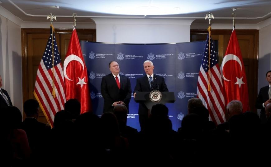 Συμφωνία ΗΠΑ – Τουρκίας για πενθήμερη κατάπαυση του πυρός στη Συρία