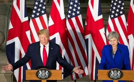 Συνάντηση Τραμπ - Μέι: Εμφαση στη σημασία της εμπορικής συμφωνίας ΗΠΑ - Βρετανίας