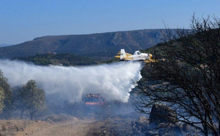 Σύλληψη για εμπρησμό για την φωτιά στην Κάρυστο