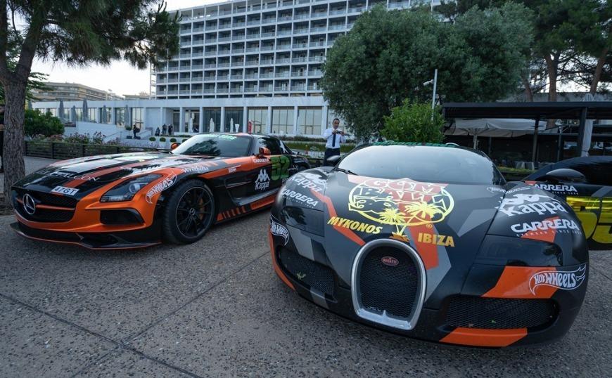 Τα supercars του Gumball 3000 στο πλακόστρωτο της Νέας Παραλίας