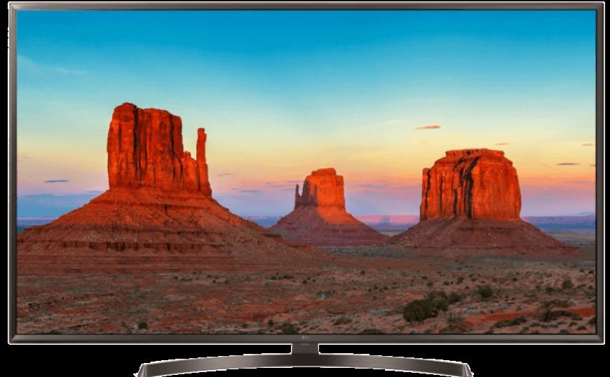 Τηλεόραση LG 4Κ Smart-TV 49 ιντσών κάτω από 400€