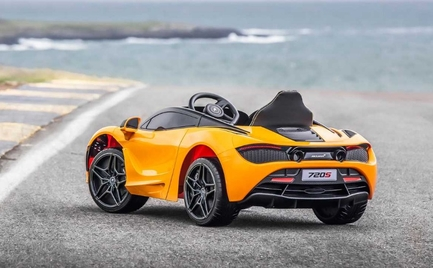 Τι παίρνετε σε ένα παιδί που έχει τα πάντα; Μία McLaren 720S Ride-On (video)