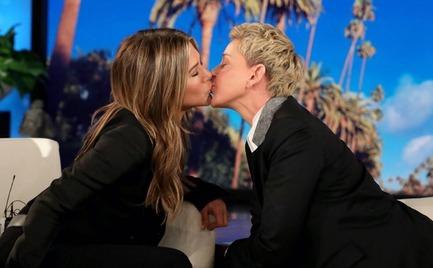 Το φιλί της Jennifer Aniston με την Ellen DeGeneres