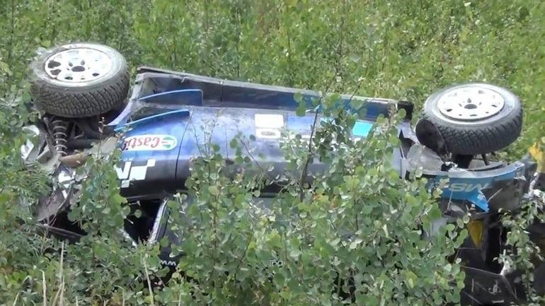Τρομερό ατύχημα για τον Paddon στη Φινλανδία