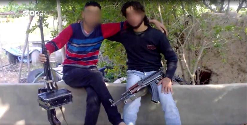 Τρομοκράτης του ISIS ποζάρει στο μνημείο του Άγνωστου Στρατιώτη
